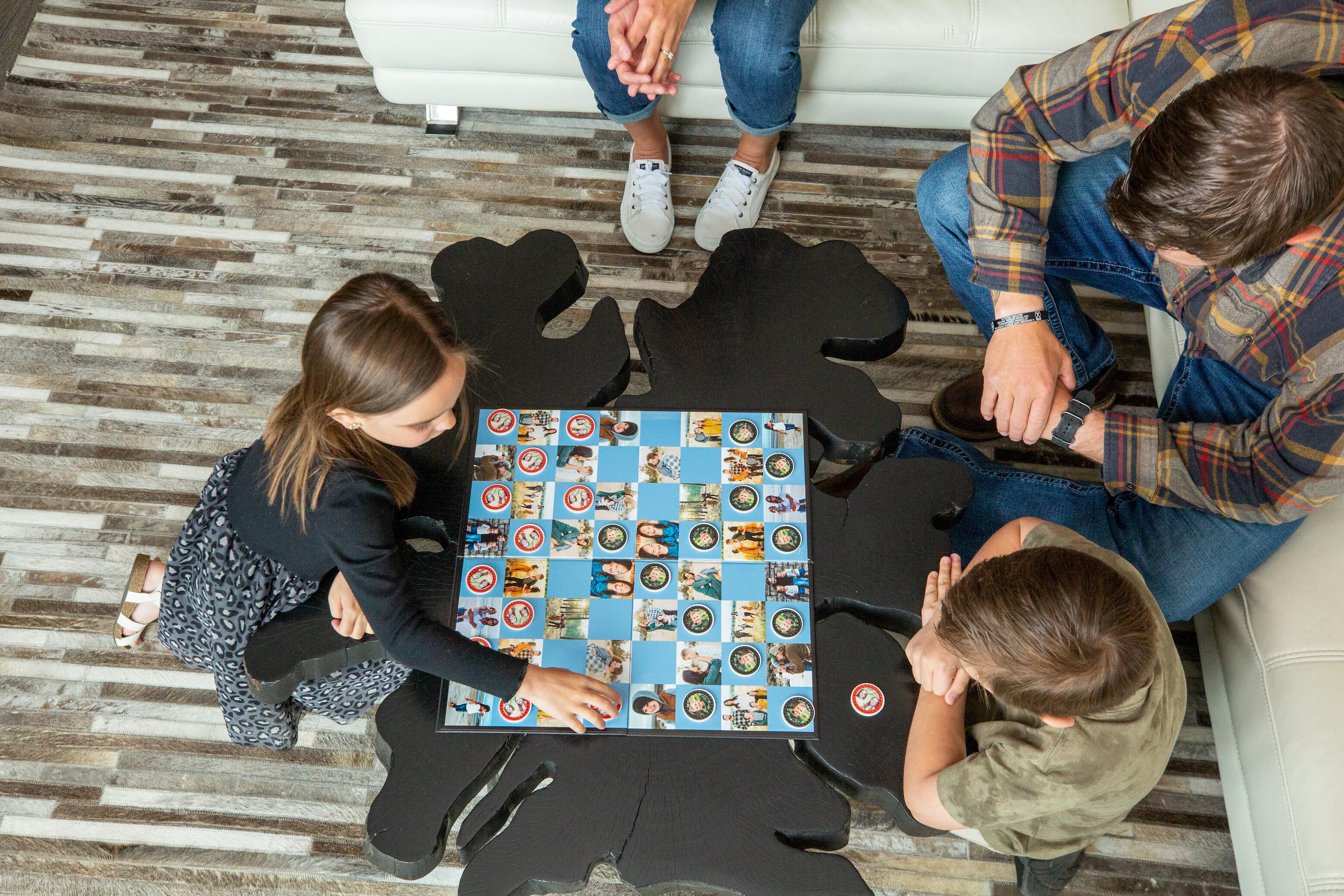 Custom Checkers Game