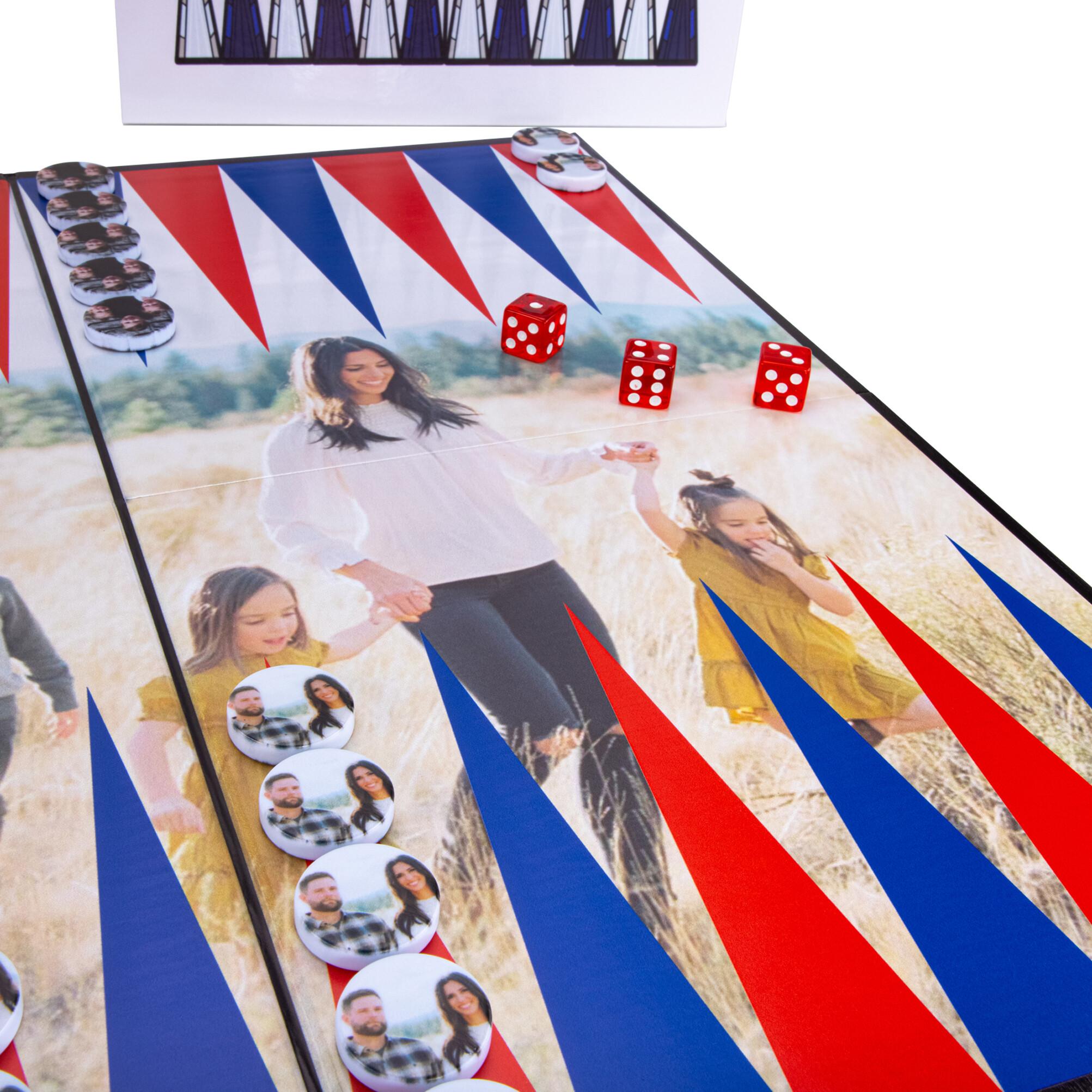 Custom Backgammon Game