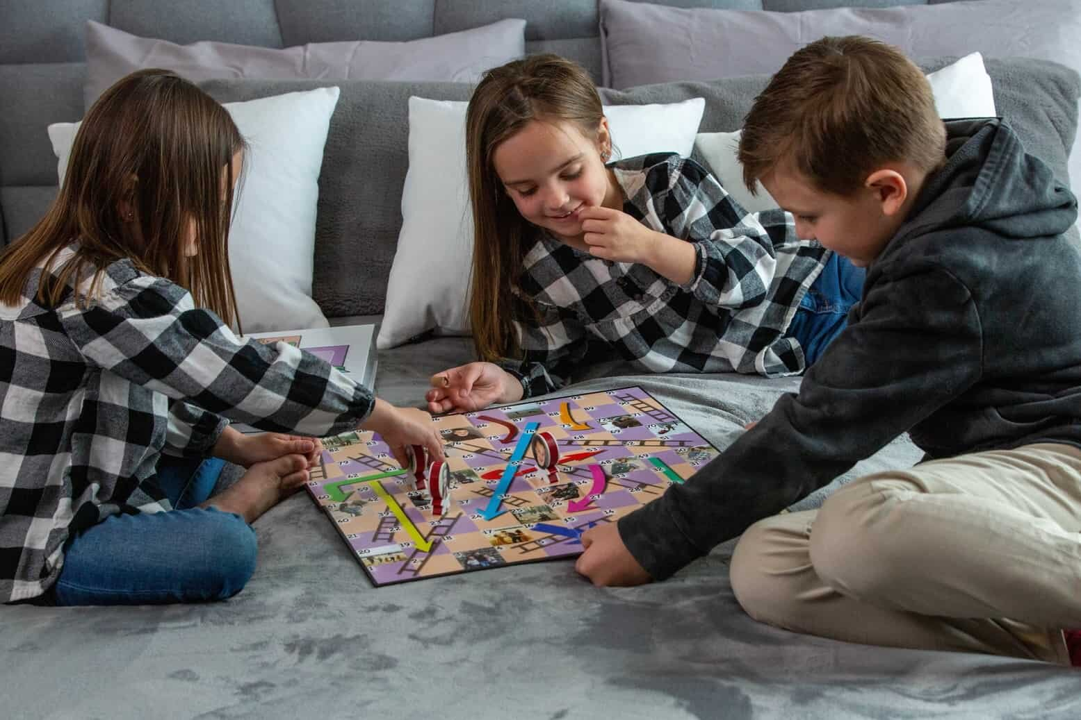 Kids Enjoying Personalized Board Game | You're On Deck