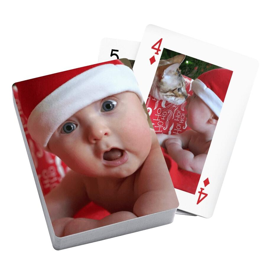 Personalized Playing Cards Both Sides | You're On Deck